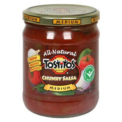 Chunky Salsa, All Natural, Medium