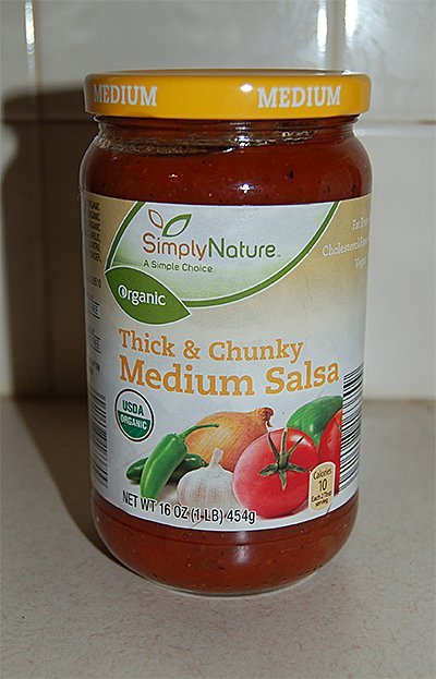 Organic Chunky Medium Salsa