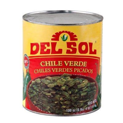 Green Chile Peppers, Diced