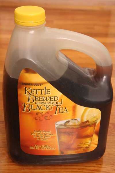Kettle Brewed Unsweetened Green & White Tea with a Hint of Mint