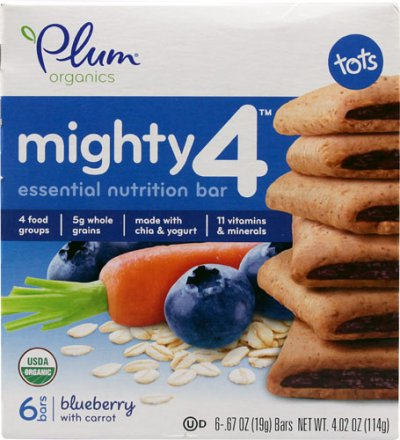 Mighty 4, Essential Nutrition Bar