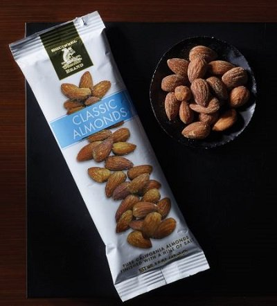 Classic Almonds, Pure California Almonds Finished With A Hint Of Salt