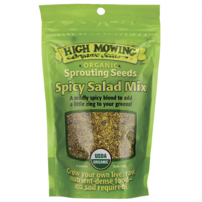 Organic Spicy Seed Mix