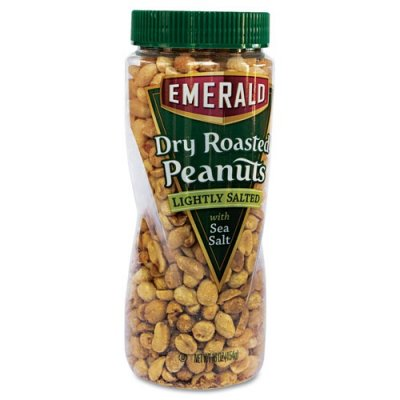 Snax Dry Roasted Lightly Salted Peanuts