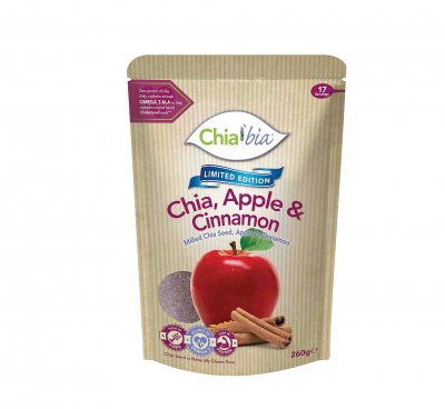 Apple Cinnamon Chia Bar