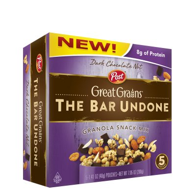 Great Grains, The Bar Undone, Granola Snack Mix