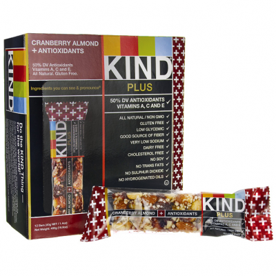 Cranberry Almond Plus Antioxidant Bar