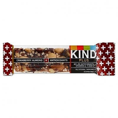 Fruit + Nut Bar, Antioxidants, Cranberry & Almond