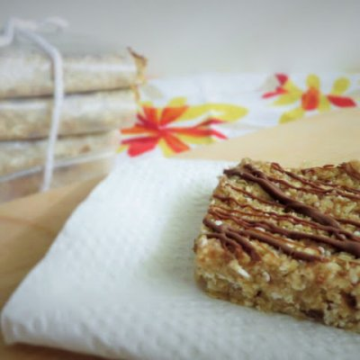 Granola Bar, Honey Almond Flax