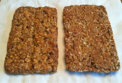 Honey Oat Flax Crunchy Granola & Seed Bar