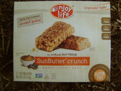 SunButter Crunch, Baked Chewy Bars