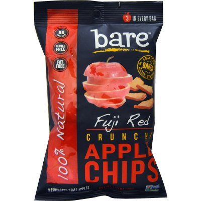 Crunchy Fuji Red Apple Chips