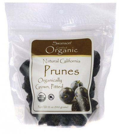 Prunes, Organic California