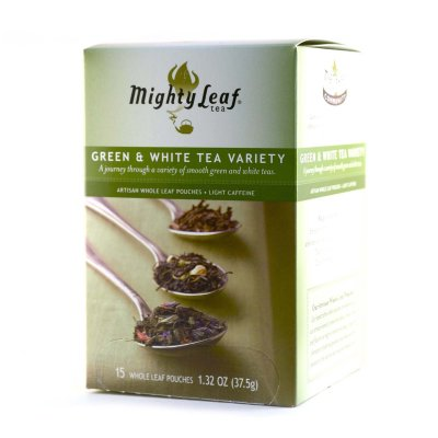 Green and White Tea Variety