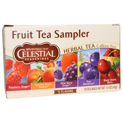 Herbal Tea, Caffeine Free, Sampler