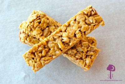 Organic Peanut Butter Chewy Granola Bars