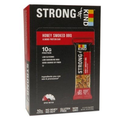 Strong, Honey Smoked Bbq Almond Protein Bar