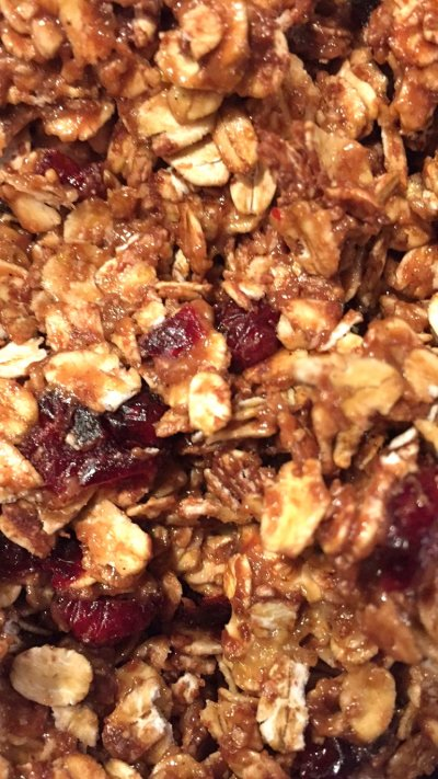 Granola Bars, Chewy, Oat & Honey