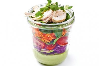 Add Chicken to Large Salad (3 Servings)