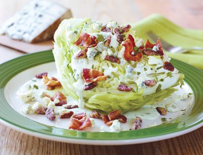 Fat Salad Wedge (no dressing)