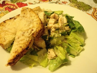 Oven Roasted Chicken Breast Salad