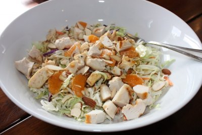 Asian Chopped Chicken Salad Small (no dressing)