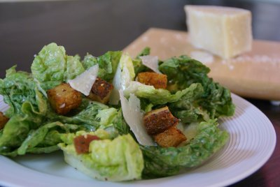 Caesar Salad without Dressing, Small (1 Serving)