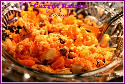 Carrot & Raisin Salad (small)
