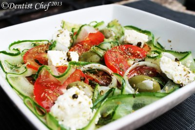 Chef Salad without Dressing, Medium (3 Servings)
