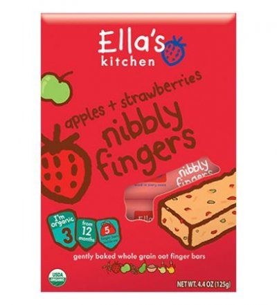 Organic Mangoes + Carrots Nibbly Fingers Bars