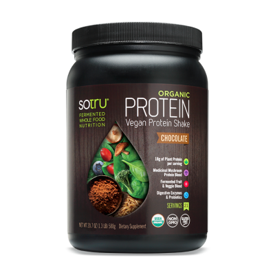 Organic Protein Plant Based Powed, Sweet Vanilla Bean
