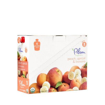 Peach, Apricot & Banana Organic Baby Food