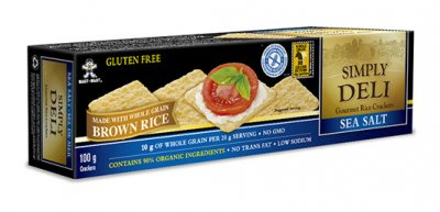 Gluten Free Multigrain With Flax Brown Rice Crackers