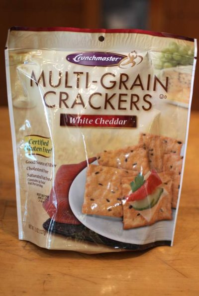 White Cheddar Multi-Grain Crackers