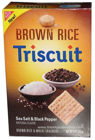 Triscuit, Sweet Potato & Sea Salt