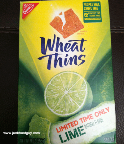 Wheat Thins, Lime