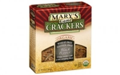 Organic 8 Grain Wheat Crackers