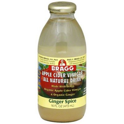 Organic Ginger Spice Apple Cider Vinegar Drink
