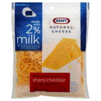 2% Milk Reduced Fat Sharp Cheddar Cheese