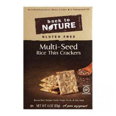 Multi Seed Rice Thin Crackers