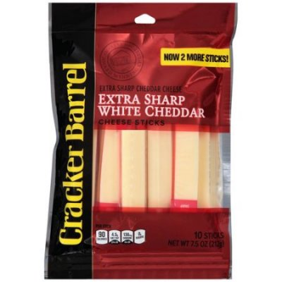 Extra Sharp White Cheddar Cheese Sticks