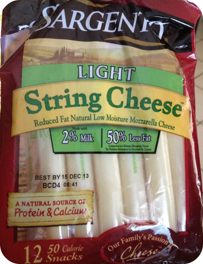 String, Mozzarella Cheese