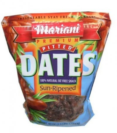 Dates, Pitted, Sun-Ripened