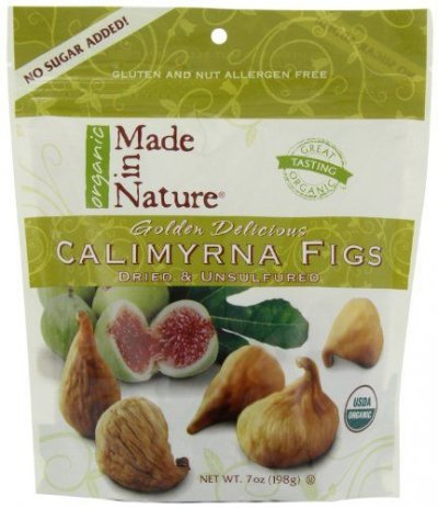 Organic Calimyrna Figs, Sun-Dried & Unsulfured