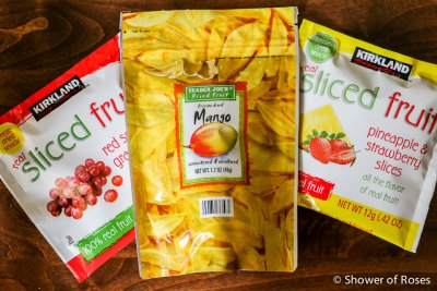 Real Sliced Fruit, Red Seedless, Grape Slices, Freeze Dried Snack