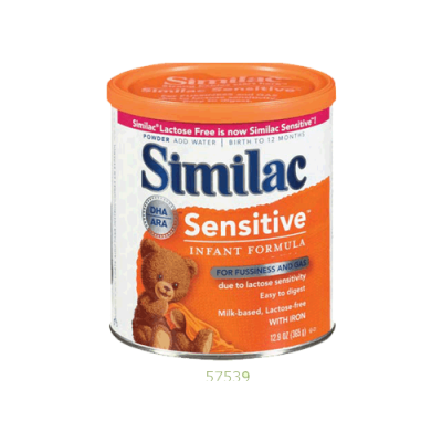 Infant Formula, For Fussiness & Gas, Due To Lactose Sensitivity