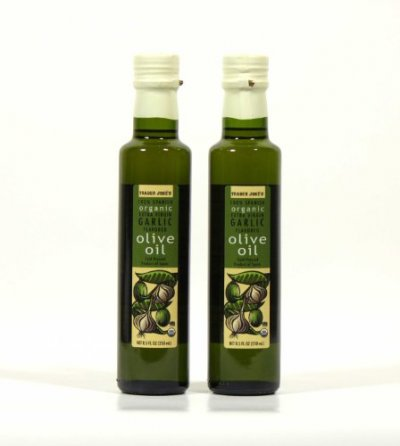 Olive Oil, Organic 100% Spanish, Garlic Flavored