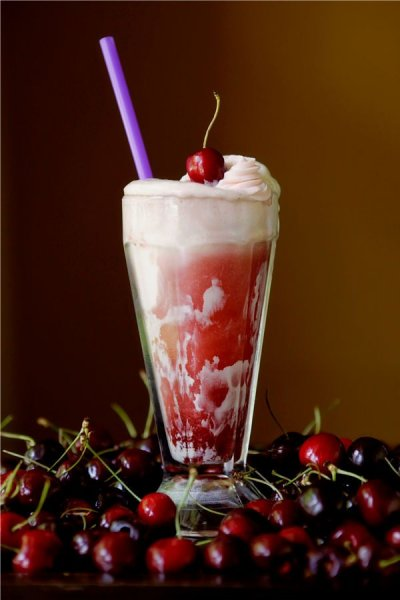 Sparkling Probiotic Drink, Blueberry Cherry