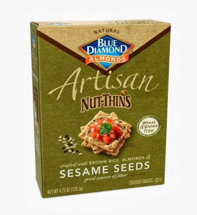 Thins, Sesame And Sea Salt Flatbread