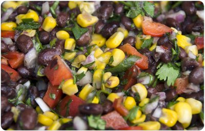 Corn, Black Bean & Roasted Pepper Thick & Chunky Salsa - Medium